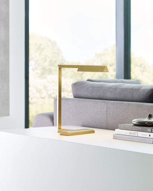 Dessau 16 Table Lamp Natural Brass