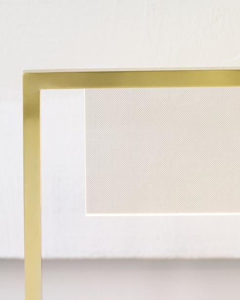 Everett Table Lamp Natural Brass