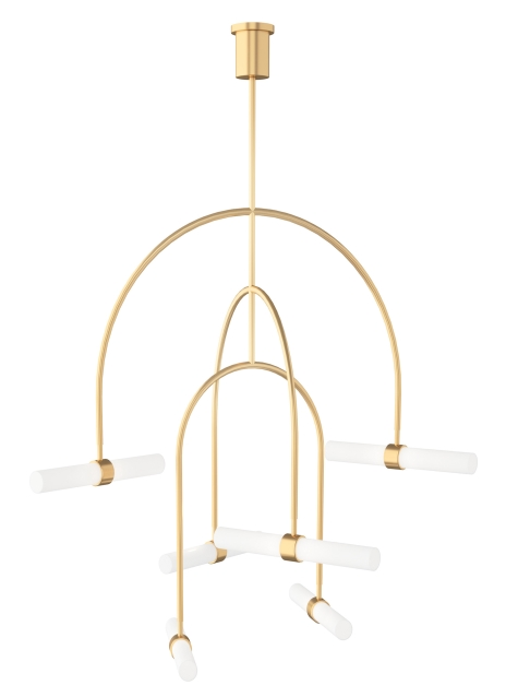 Calumn 6-Light Chandelier