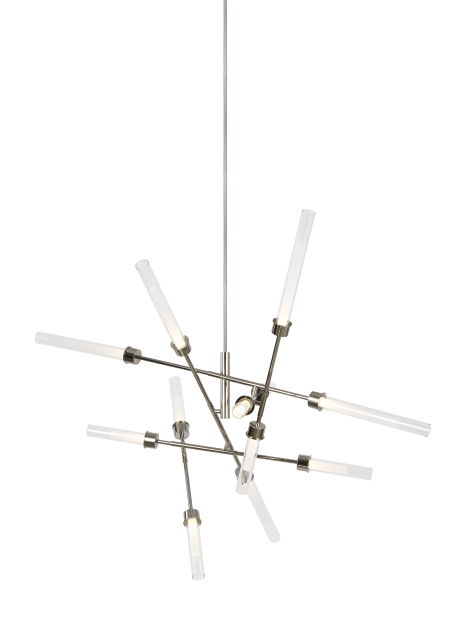 Linger 12-Light Abstract Chandelier