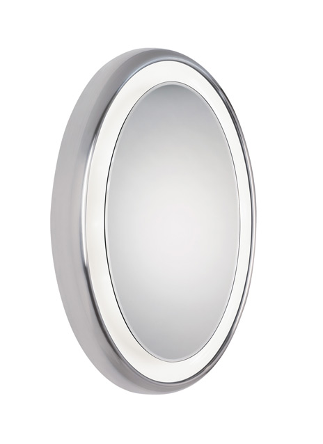 Tigris Mirror Oval