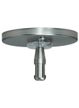 "MonoRail 4"" Round Power Feed Canopy Single-Feed"